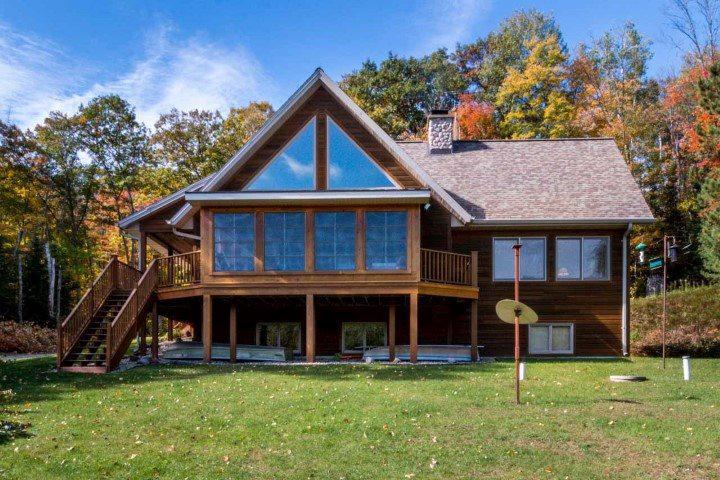 View Single-Family Home For Sale at W9820 BARNES LAKE LANE, Dunbar, WI
