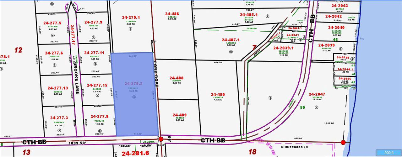 View Vacant Land For Sale at 5.25 acres POND ROAD, PESHTIGO, WI