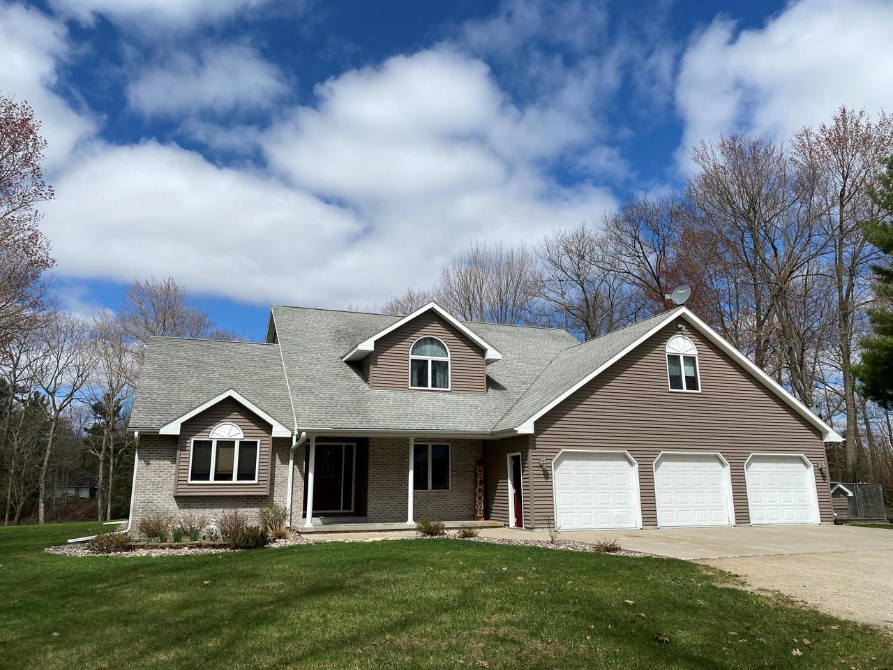 View Single-Family Home For Sale at N3821 River Dr, MENOMINEE, MI