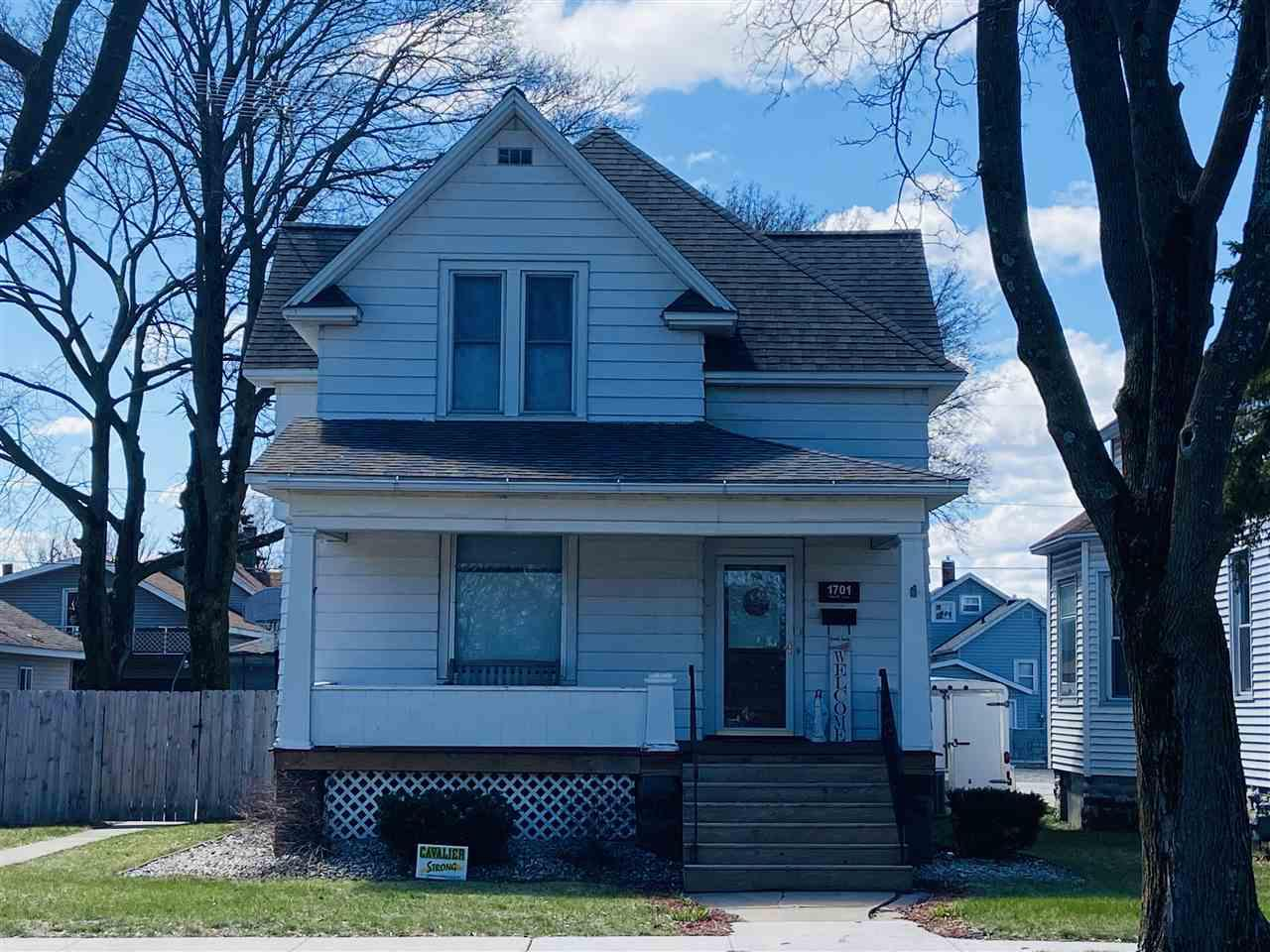 View Single-Family Home For Sale at 1701 14TH AVENUE, Menominee, MI