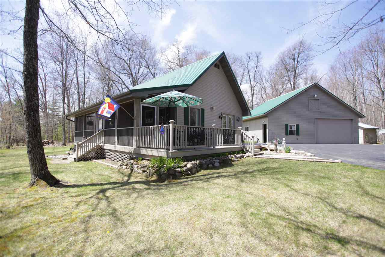 View Single-Family Home For Sale at W9876 STROIKA LANE, Crivitz, WI