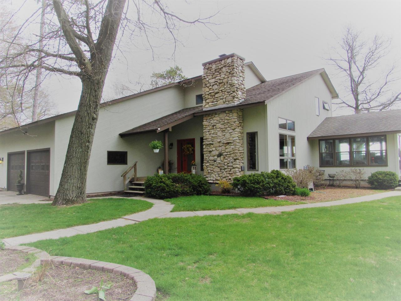 View Single-Family Home For Sale at N1814 Shore Dr, Marinette, WI
