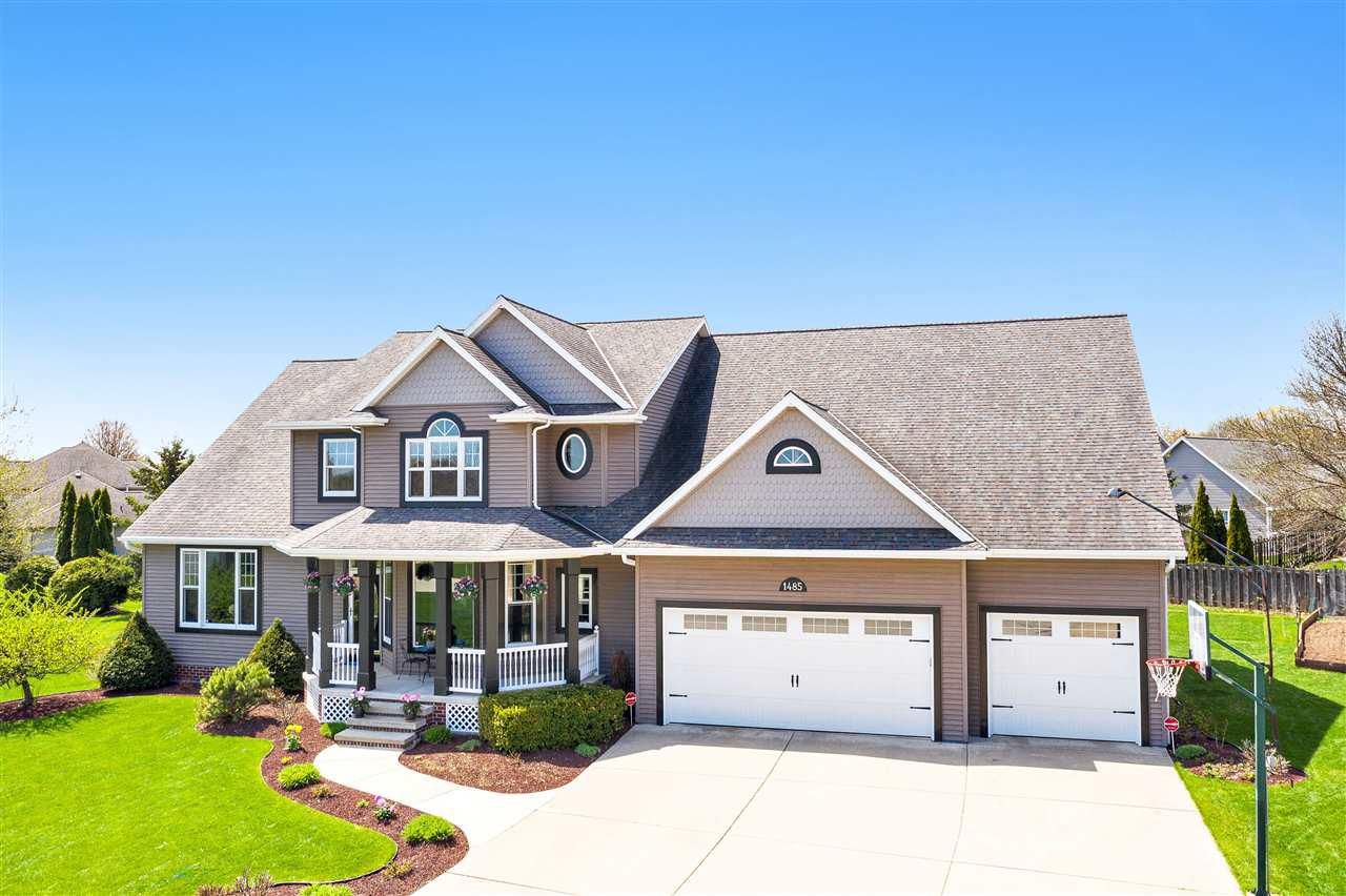 View Single-Family Home For Sale at 1485 WEXFORD LANE, Green Bay, WI
