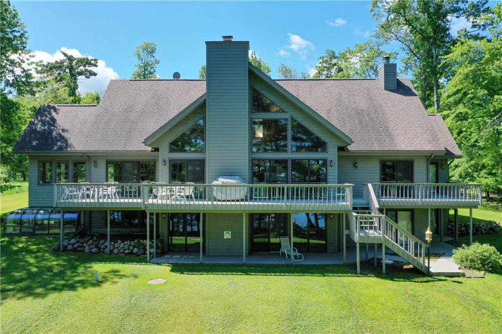 View Single-Family Home For Sale at 49080 S River Road, Barnes, WI