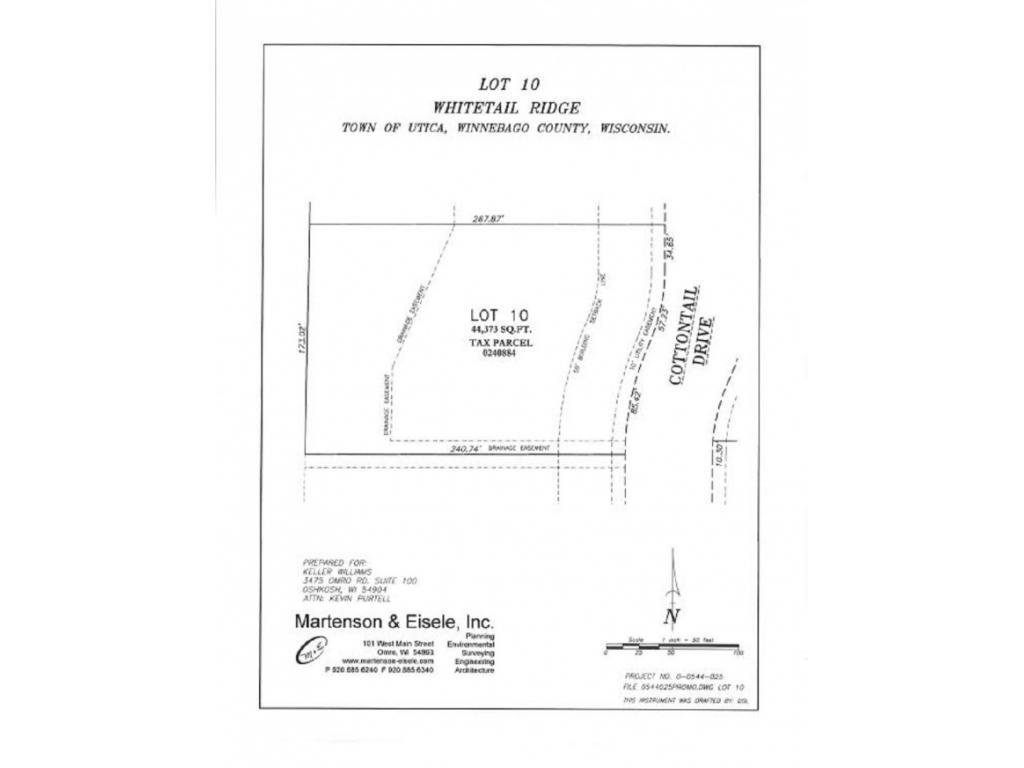 View Vacant Land For Sale at 1911 COTTONTAIL DRIVE, Oshkosh, WI
