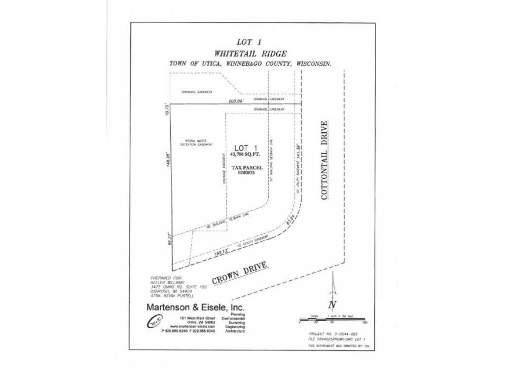 View Vacant Land For Sale at 1707 COTTONTAIL DRIVE, Oshkosh, WI