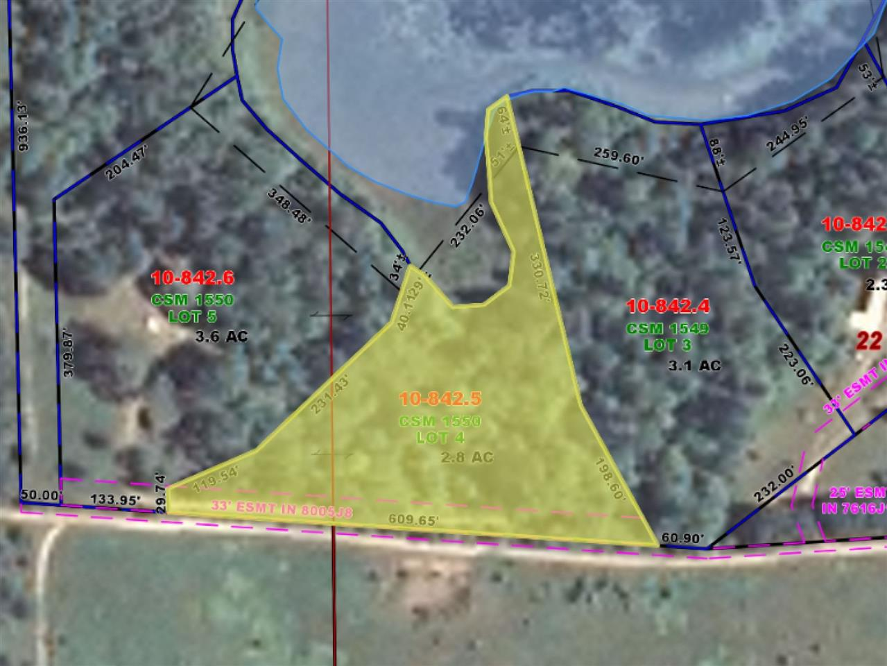View Vacant Land For Sale at COLLINS LANE, Dunbar, WI