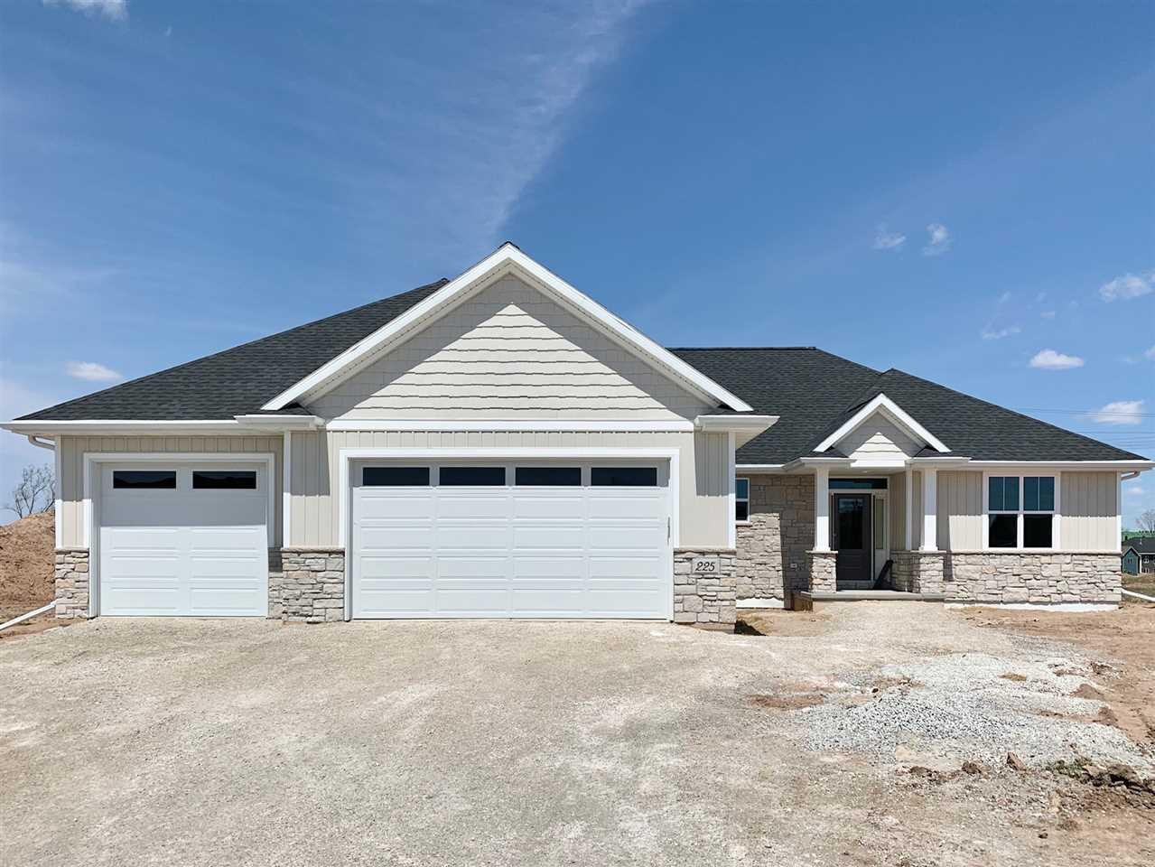View Single-Family Home For Sale at 225 RIVERS EDGE DRIVE, Kimberly, WI