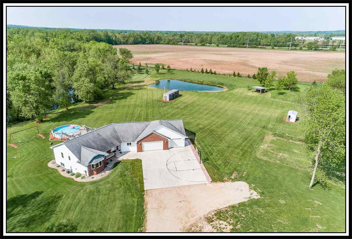 View Single-Family Home For Sale at 640 SPURR ROAD, New London, WI