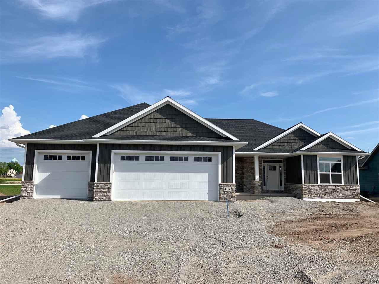 View Single-Family Home For Sale at 425 RIVERS EDGE DRIVE, Kimberly, WI