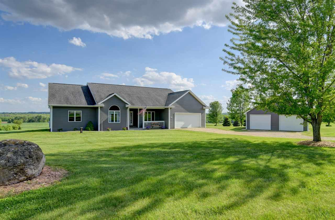 View Single-Family Home For Sale at W9819 HWY S, New London, WI