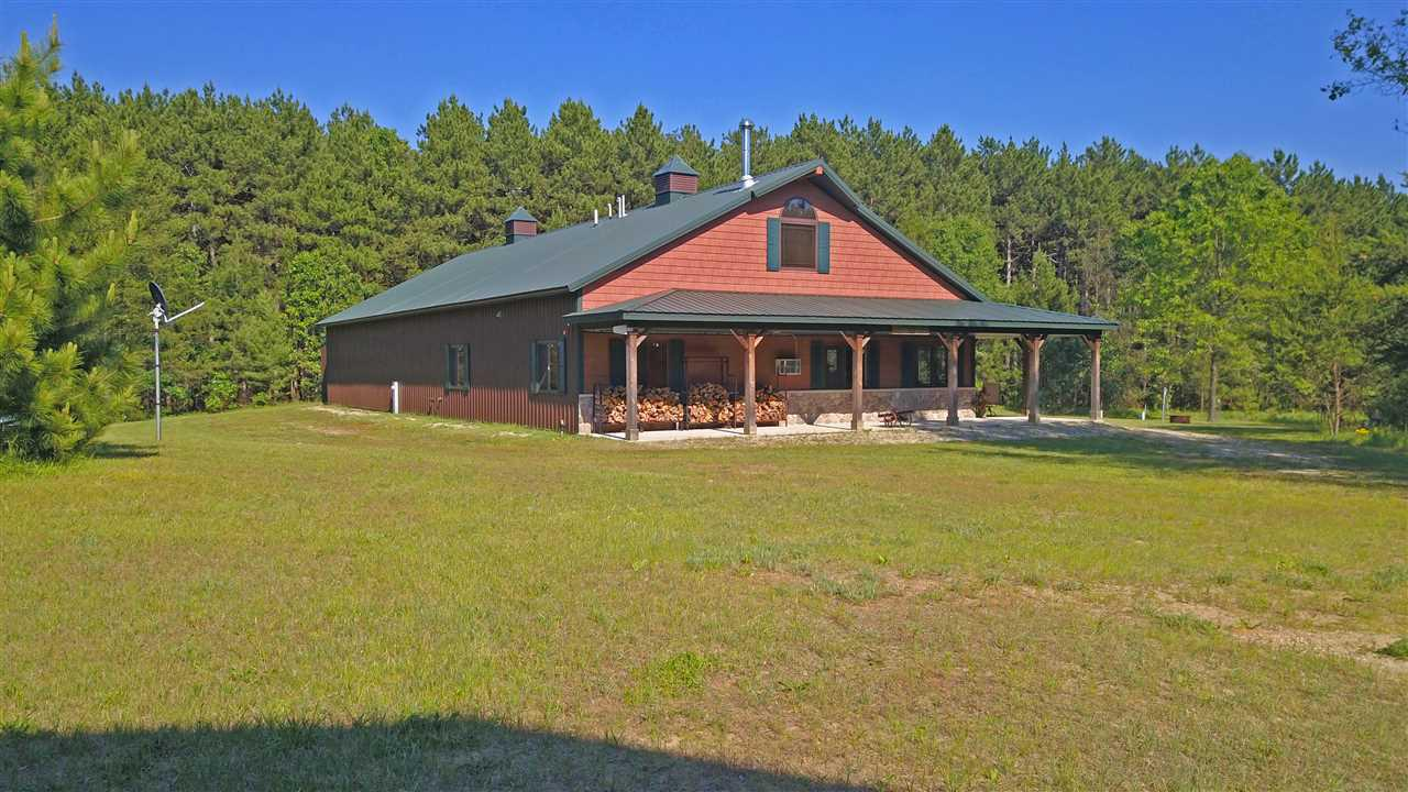 View Single-Family Home For Sale at N3602 BLACKHAWK ROAD, Pine River, WI
