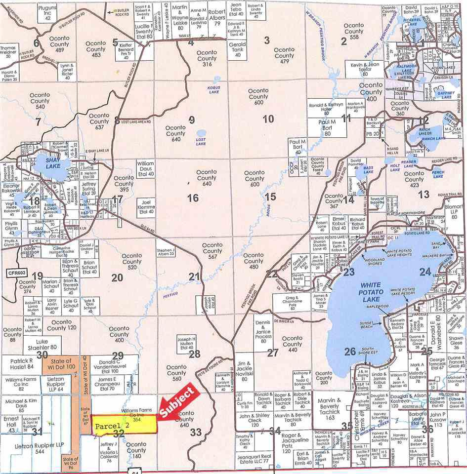 View Vacant Land For Sale at HWY 64, Pound, WI