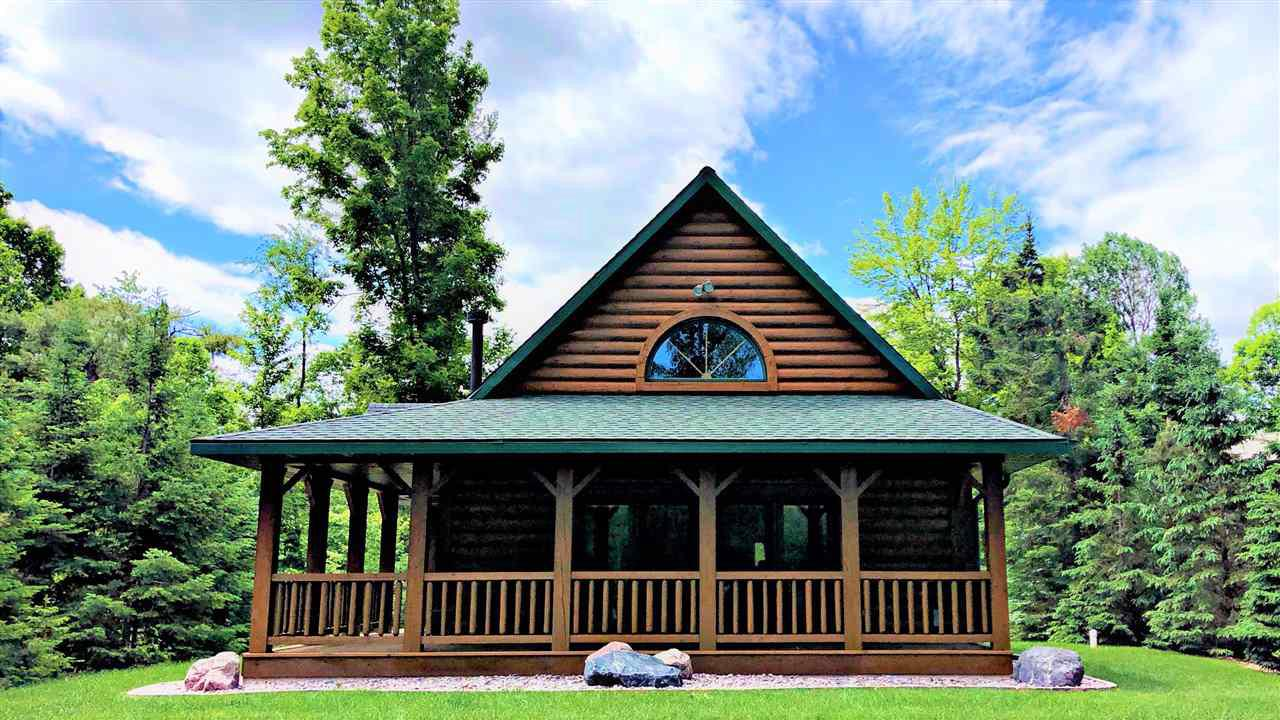 View Single-Family Home For Sale at 17332 W BURNT DAM ROAD, Townsend, WI