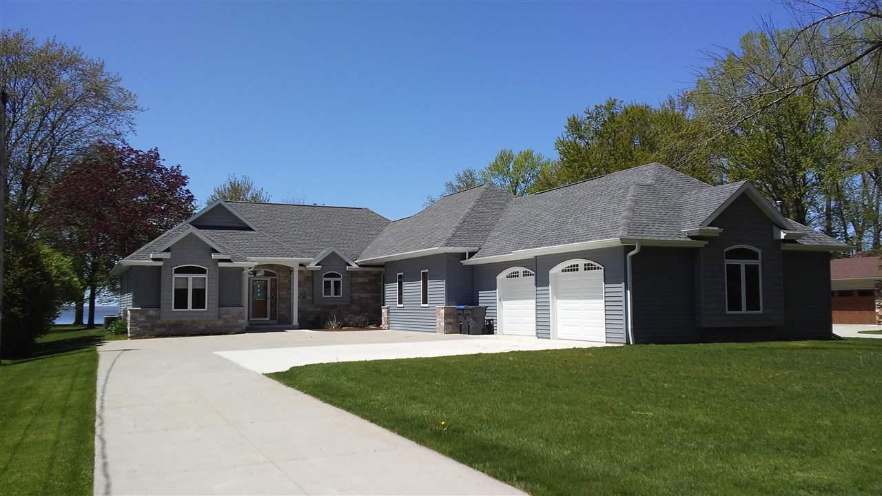View Single-Family Home For Sale at N8926 BERGENS BEACH ROAD, Fond Du Lac, WI