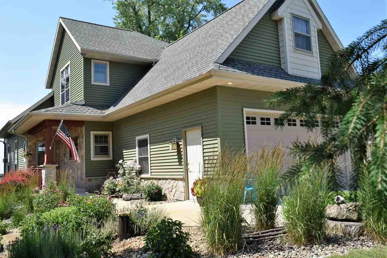 View Single-Family Home For Sale at N7550 SANDY BEACH ROAD, Fond Du Lac, WI