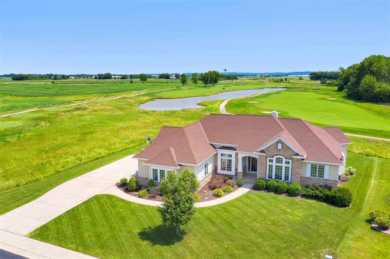 View Single-Family Home For Sale at 581 ROYAL ST PATS DRIVE, Wrightstown, WI