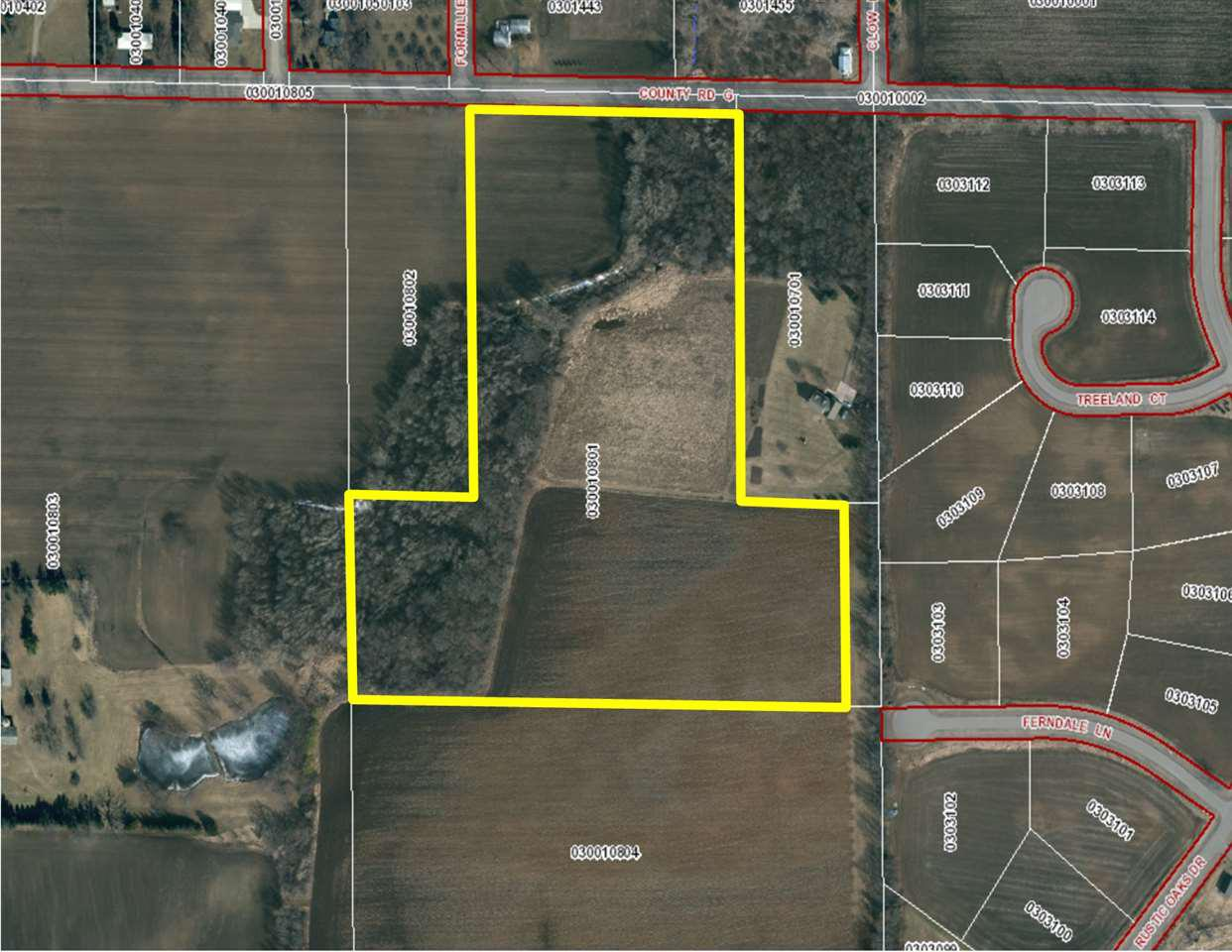 View Vacant Land For Sale at HWY G, Winneconne, WI