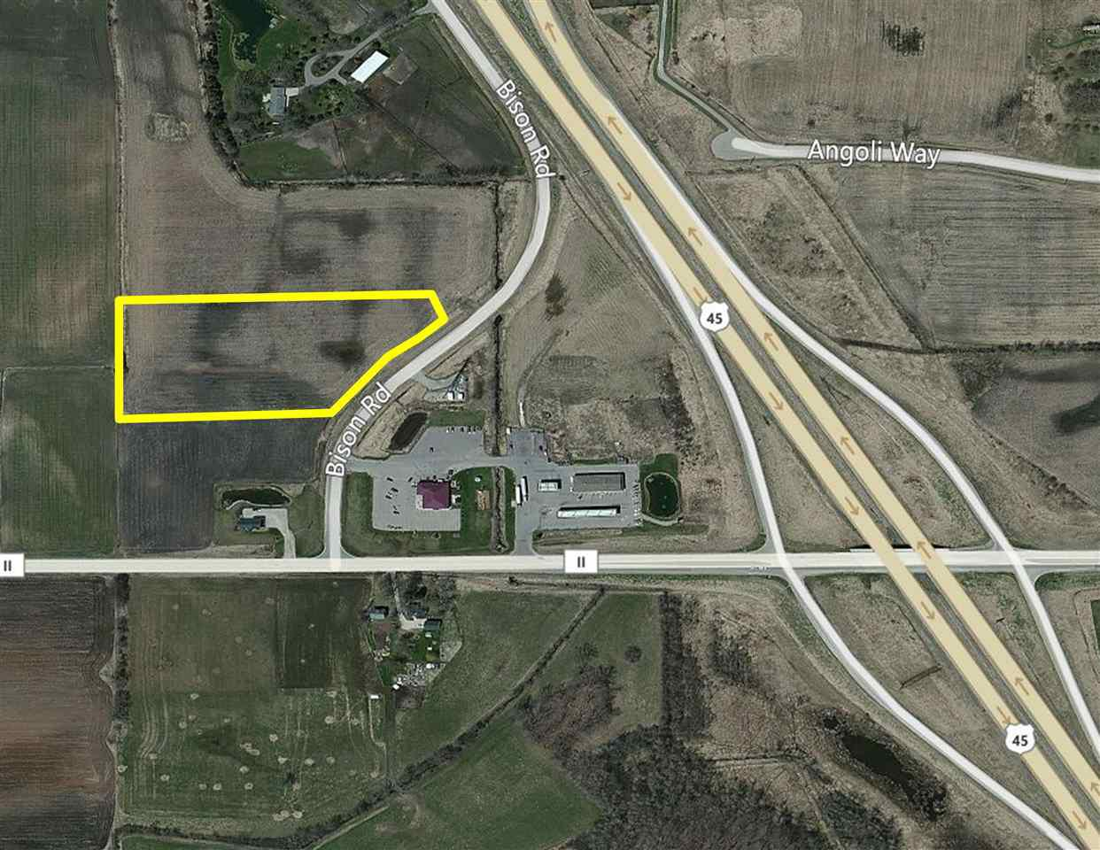View Vacant Land For Sale at BISON ROAD, Larsen, WI