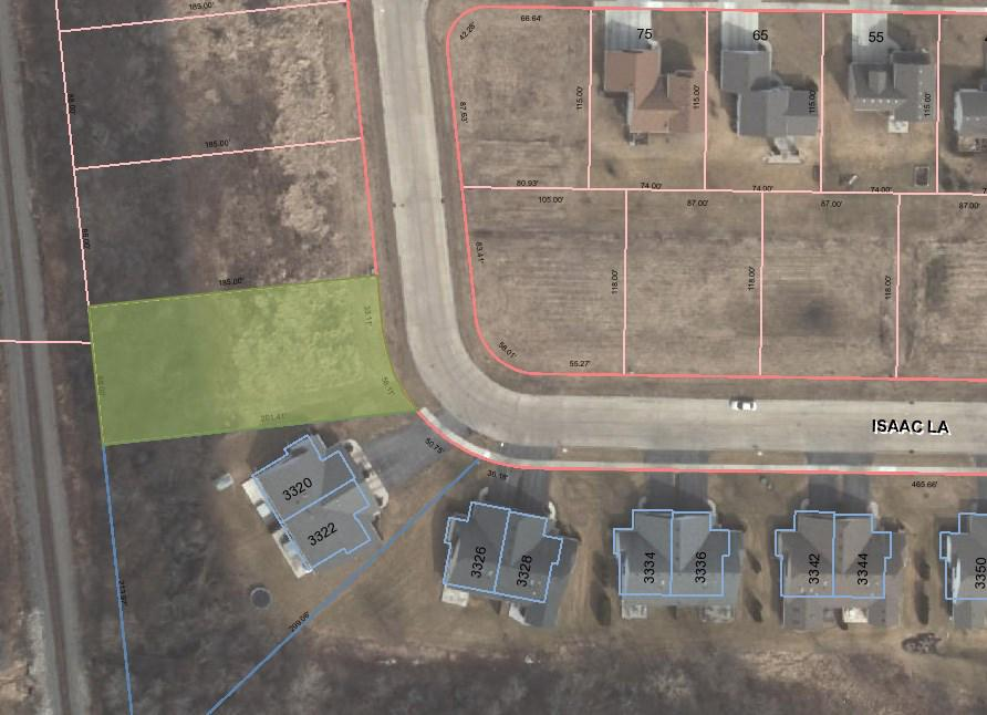View Vacant Land For Sale at L4 Isaac Ln, Oshkosh, WI