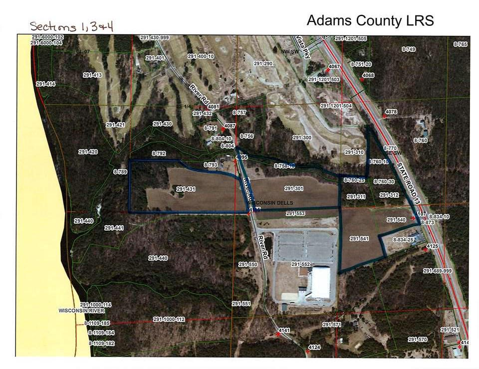 View Vacant Land For Sale at 56.06 AC Hwy 13, Wisconsin Dells, WI