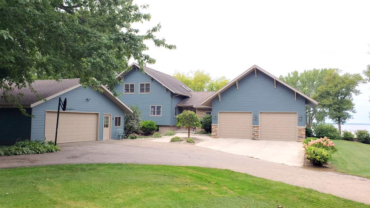 View Single-Family Home For Sale at N6495 HARRISON ROAD, Hilbert, WI