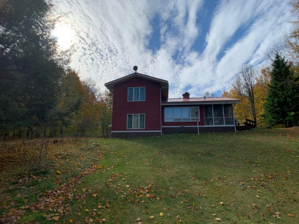 View Single-Family Home For Sale at W9092 Safe Harbor Rd, Butternut, WI