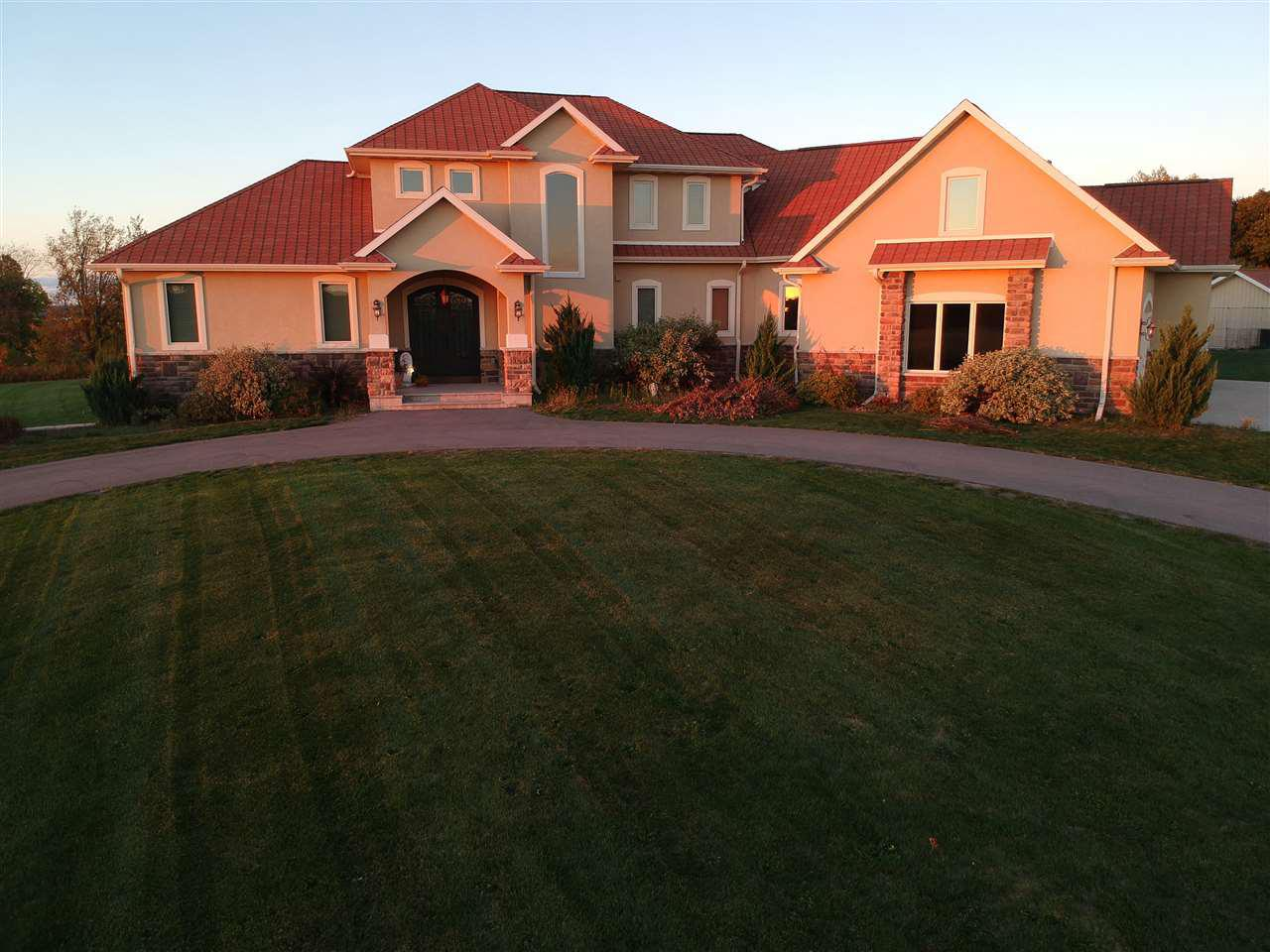 View Single-Family Home For Sale at N5110 LAKEVIEW WAY, Bonduel, WI