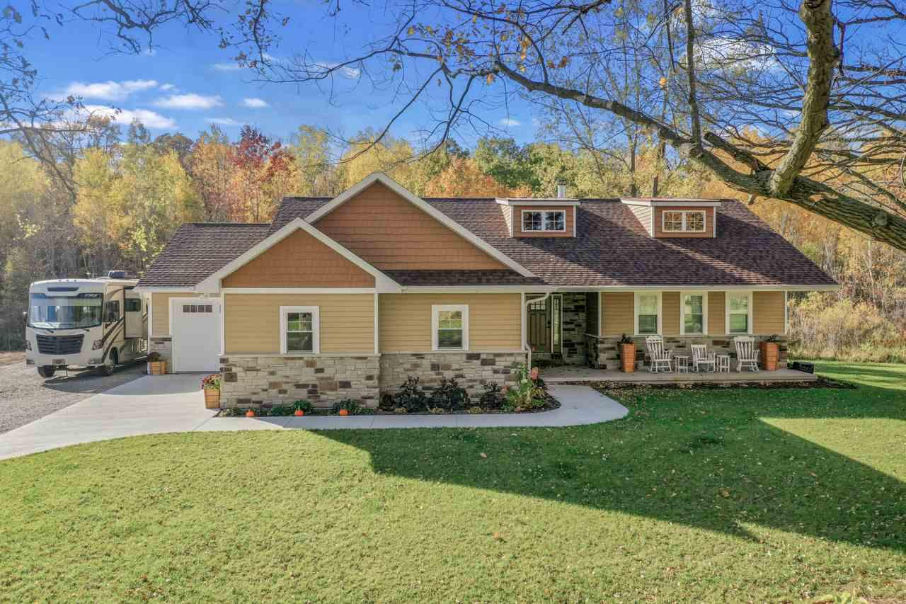View Single-Family Home For Sale at N6871 MOORE ROAD, Seymour, WI