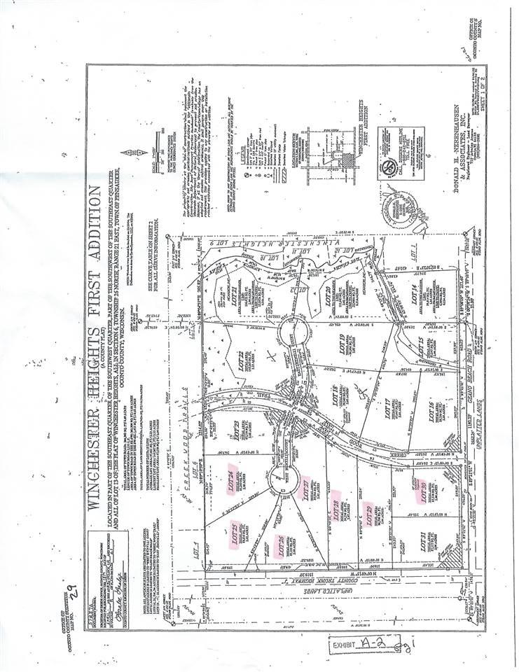 View Vacant Land For Sale at W BENELLI COURT, Abrams, WI