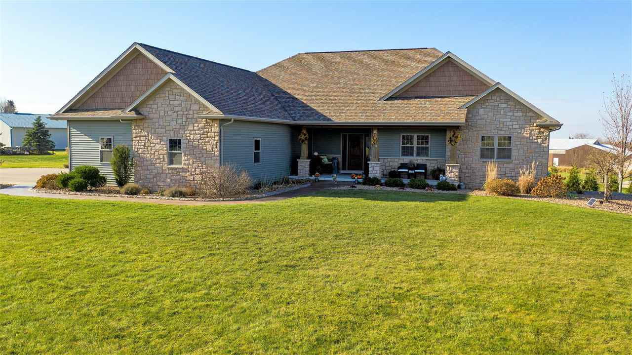 View Single-Family Home For Sale at N2591 CHAPEL HILL DRIVE, Hortonville, WI