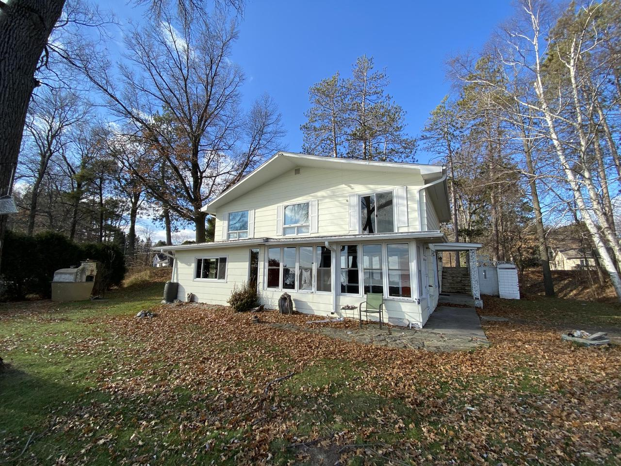 View Single-Family Home For Sale at N2610 Shore Dr, Marinette, WI