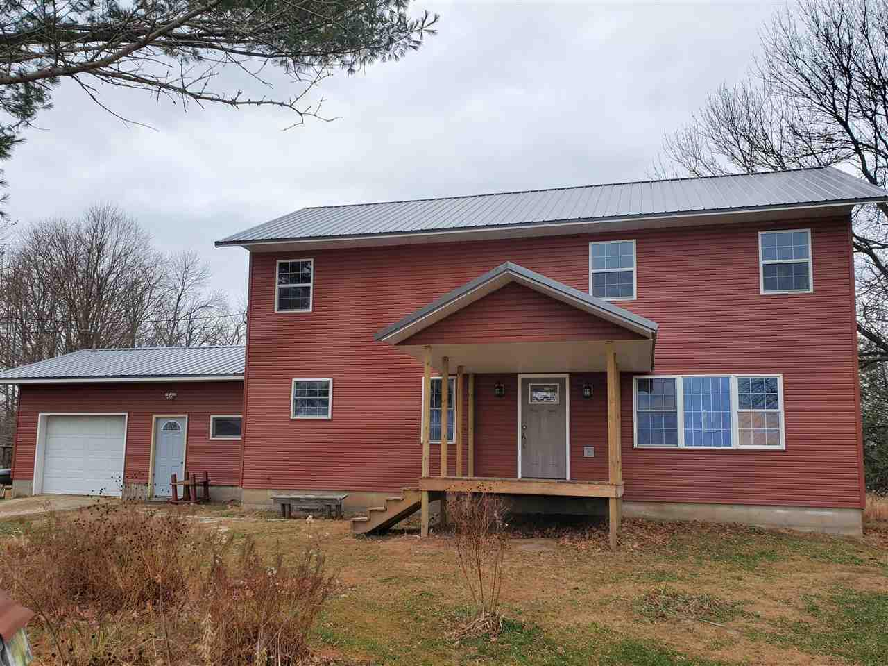 View Single-Family Home For Sale at W3565 CHICAGO LANE, Redgranite, WI