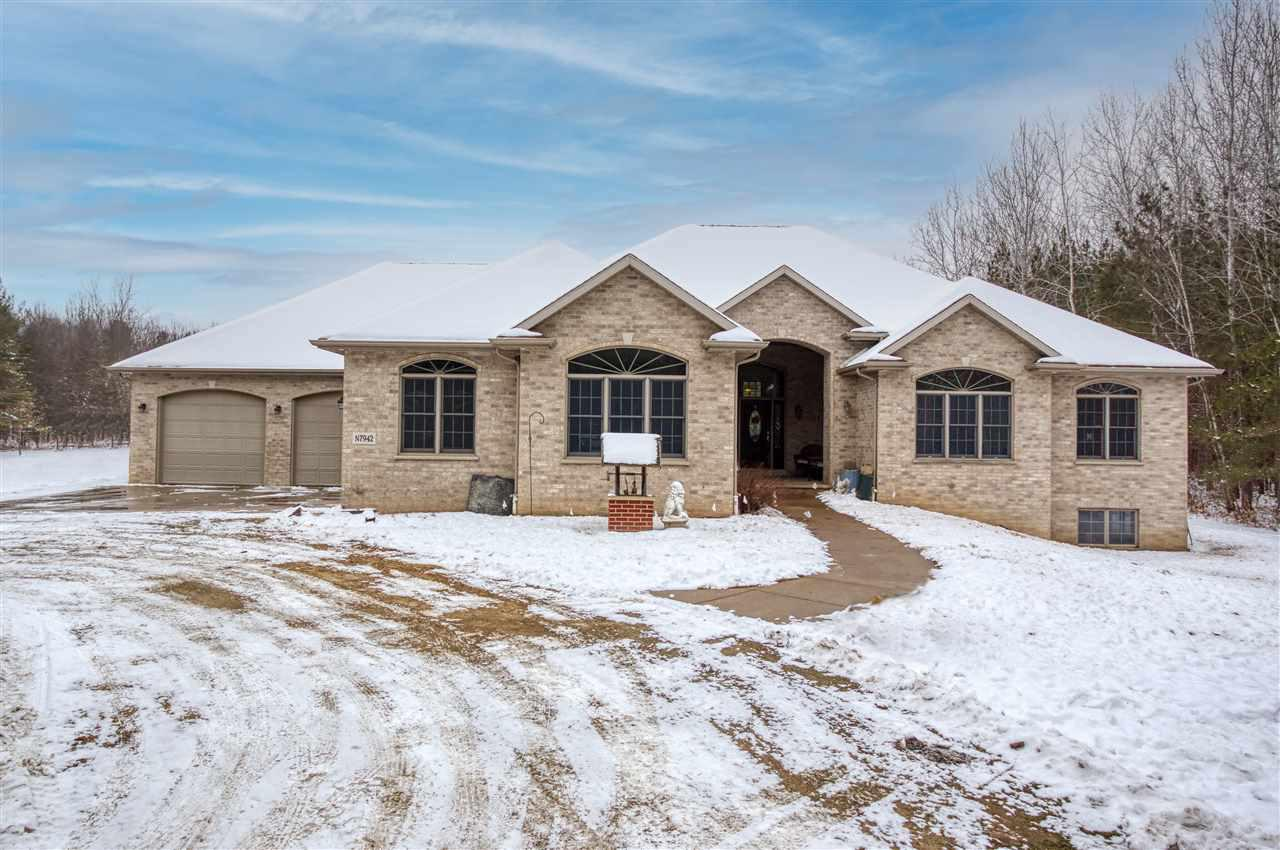 View Single-Family Home For Sale at N7942 GRANDY ROAD, Black Creek, WI