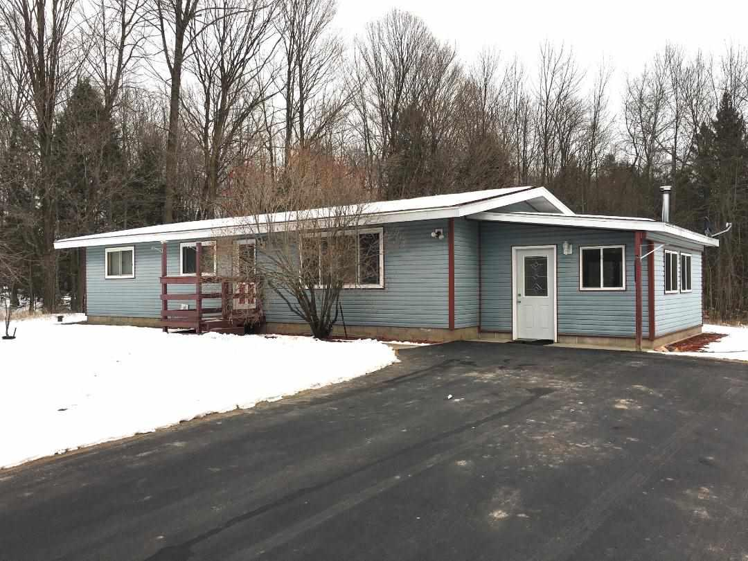 View Single-Family Home For Sale at N6280 BIEHL ROAD, Porterfield, WI