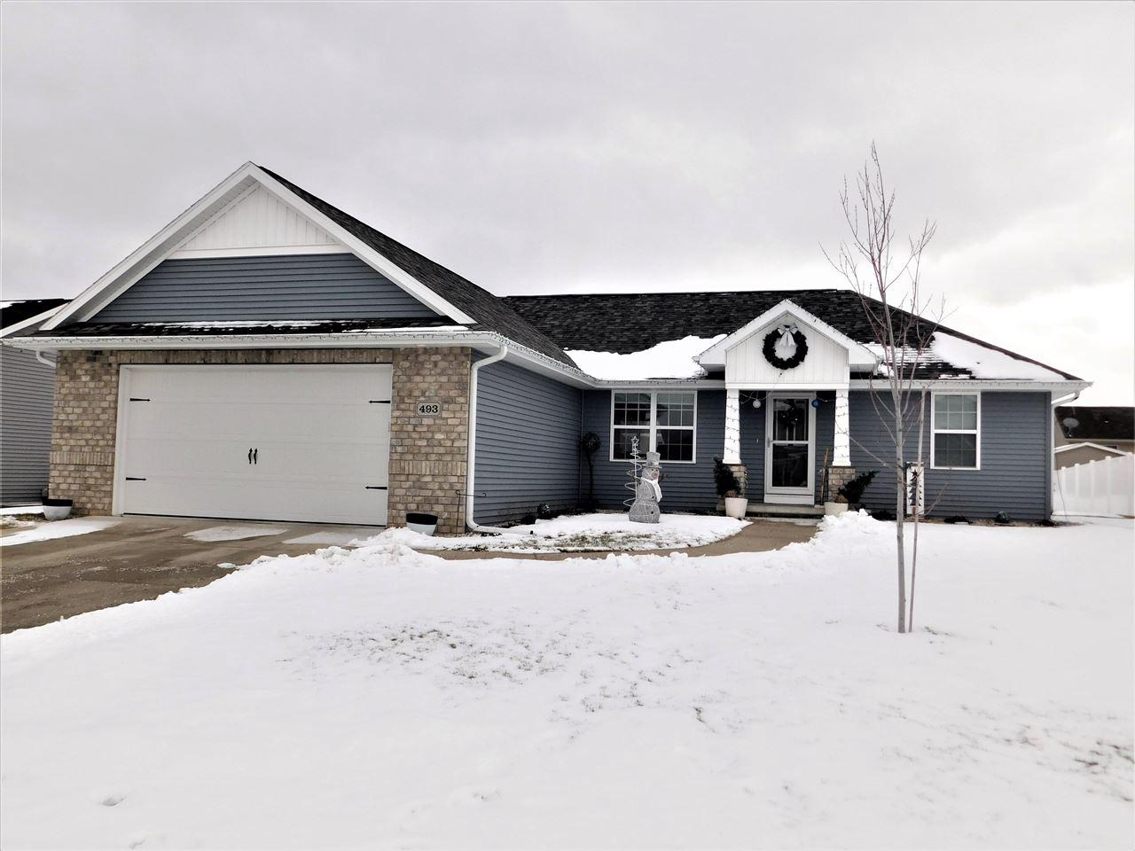 View Single-Family Home For Sale at 493 HARVEST HILL DRIVE, Denmark, WI