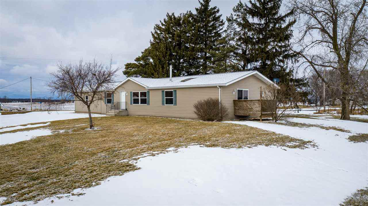 View Single-Family Home For Sale at W3696 KRUEGER ROAD, Seymour, WI