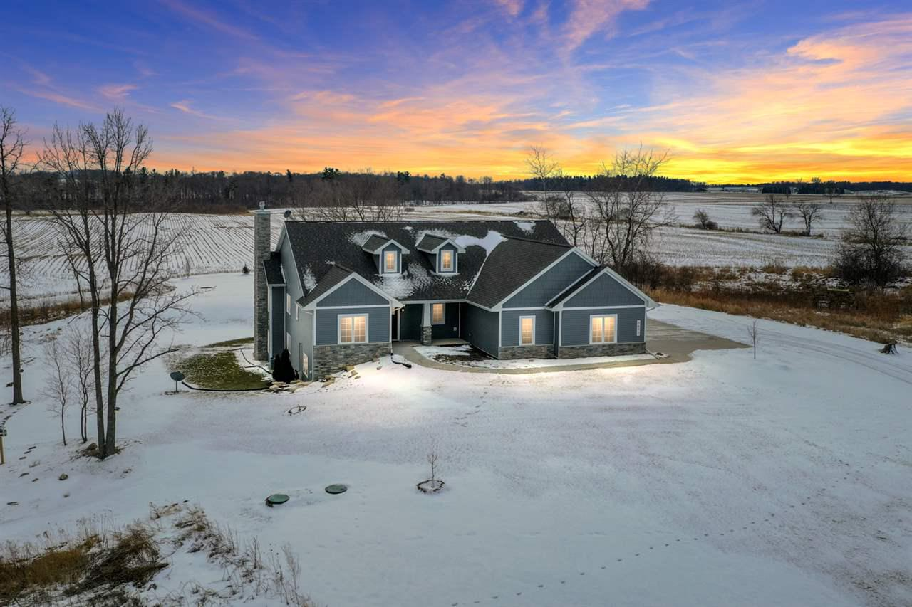 View Single-Family Home For Sale at 3672 PARK ROAD, Greenleaf, WI