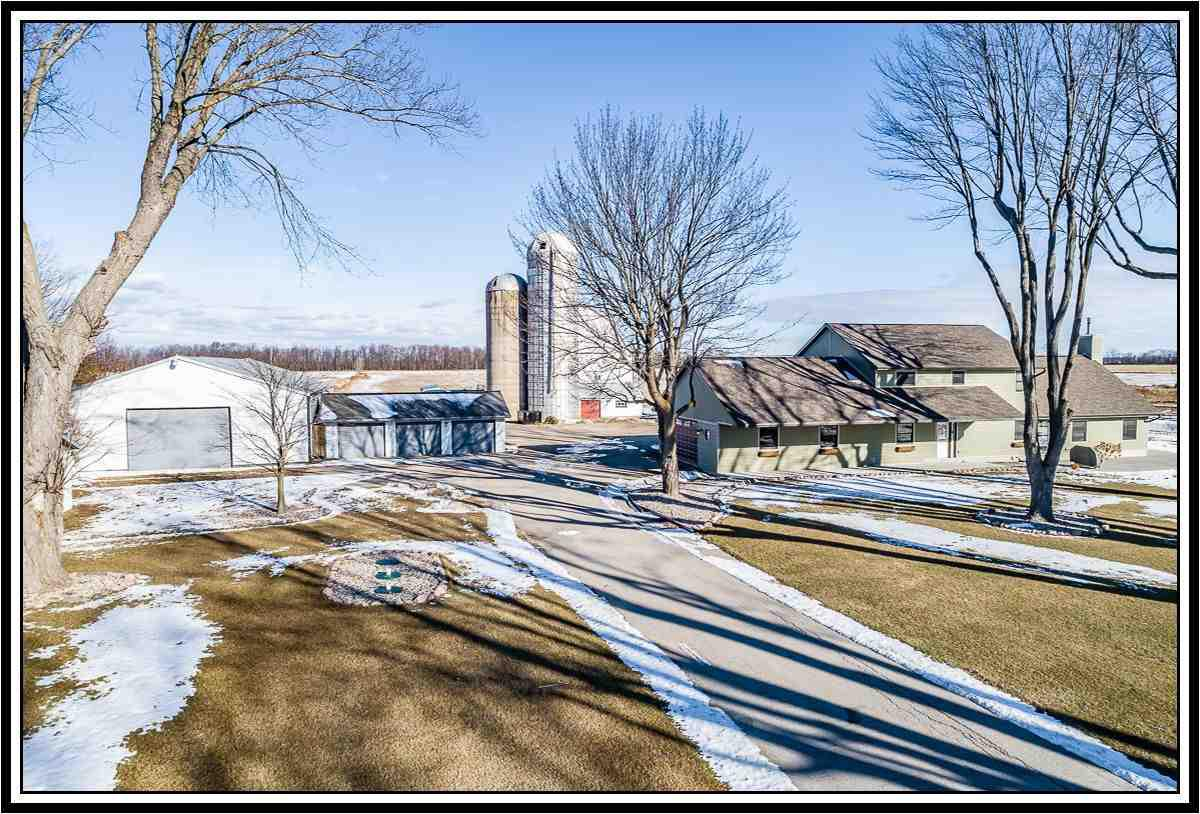View Single-Family Home For Sale at W8594 HOOYMAN ROAD, Shiocton, WI