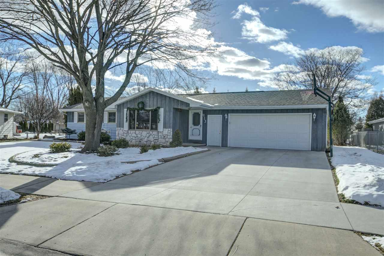 View Single-Family Home For Sale at 413 ORCHARD LANE, Little Chute, WI