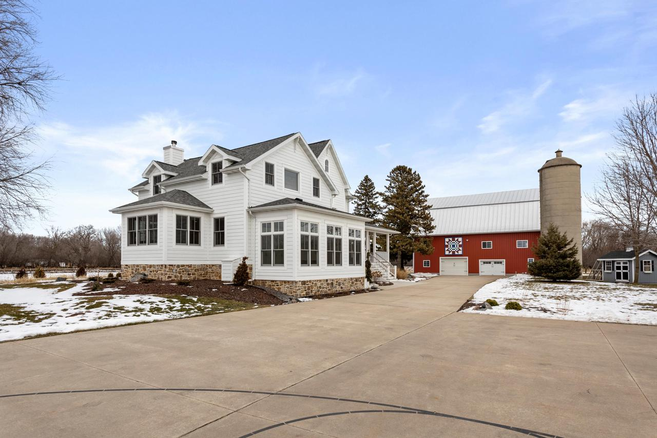 View Single-Family Home For Sale at 6286 County Road A, Neenah, WI