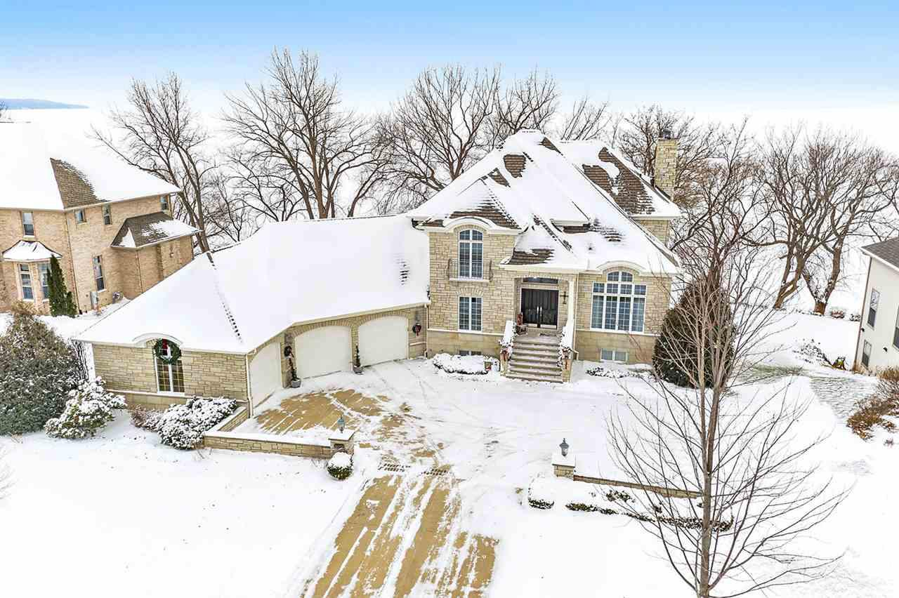 View Single-Family Home For Sale at N7893 EDGEWATER COURT, Sherwood, WI