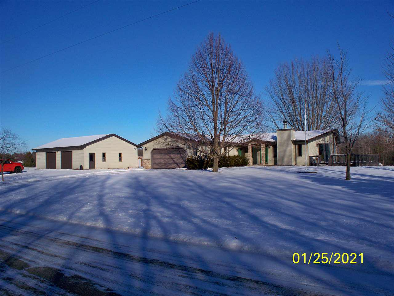 View Single-Family Home For Sale at N2318 S 5TH ROAD, Coleman, WI