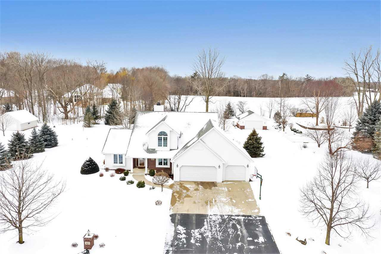 View Single-Family Home For Sale at 3187 RIVER FOREST HILLS DRIVE, Pulaski, WI