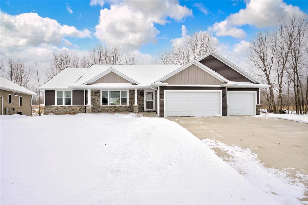 View Single-Family Home For Sale at 4875 N THISTLE LANE, Appleton, WI