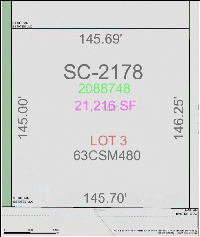 View Vacant Land For Sale at 2445 N NEW FRANKEN ROAD, New Franken, WI