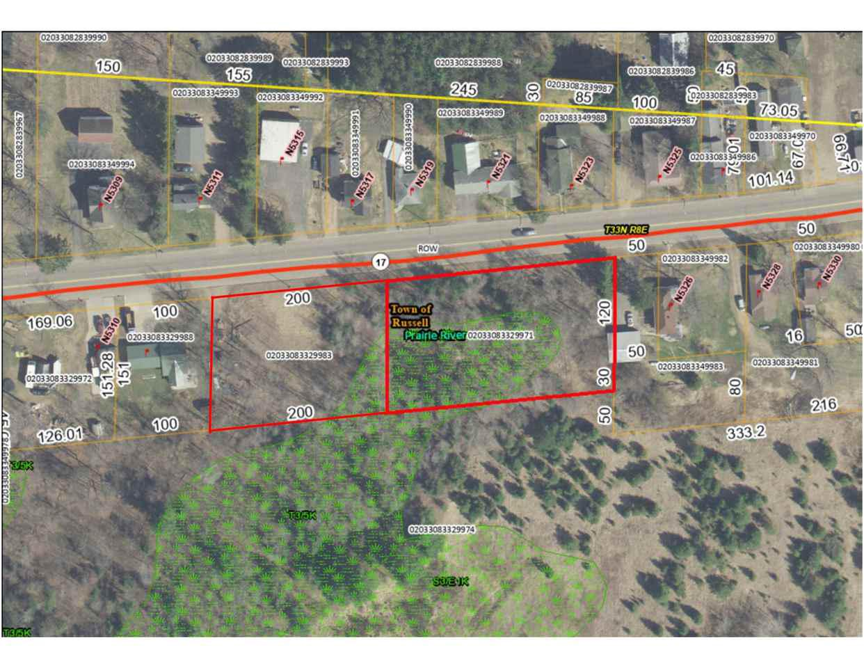 View Vacant Land For Sale at 1.58 Acres STATE HIGHWAY 17, Gleason, WI