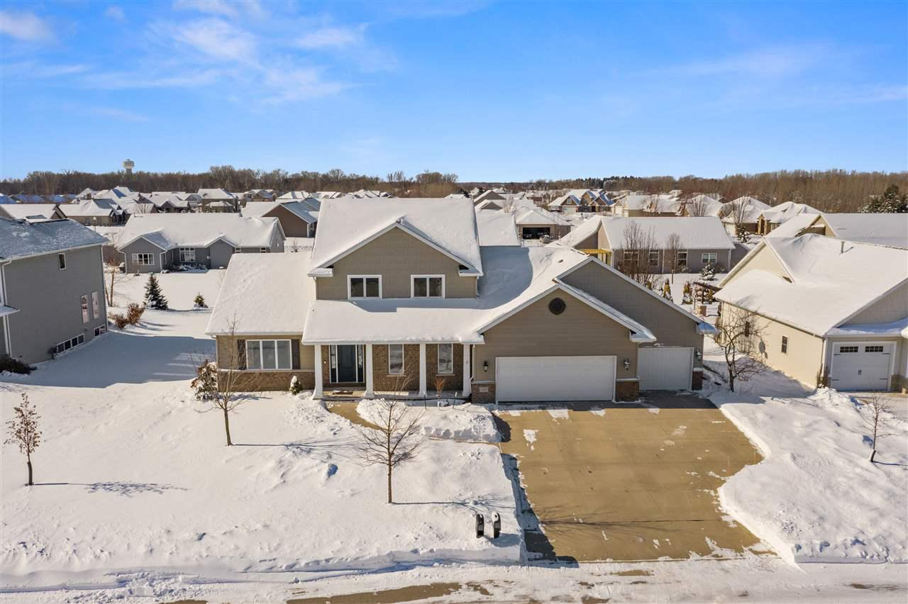 View Single-Family Home For Sale at 4445 N STAR POINT LANE, Appleton, WI