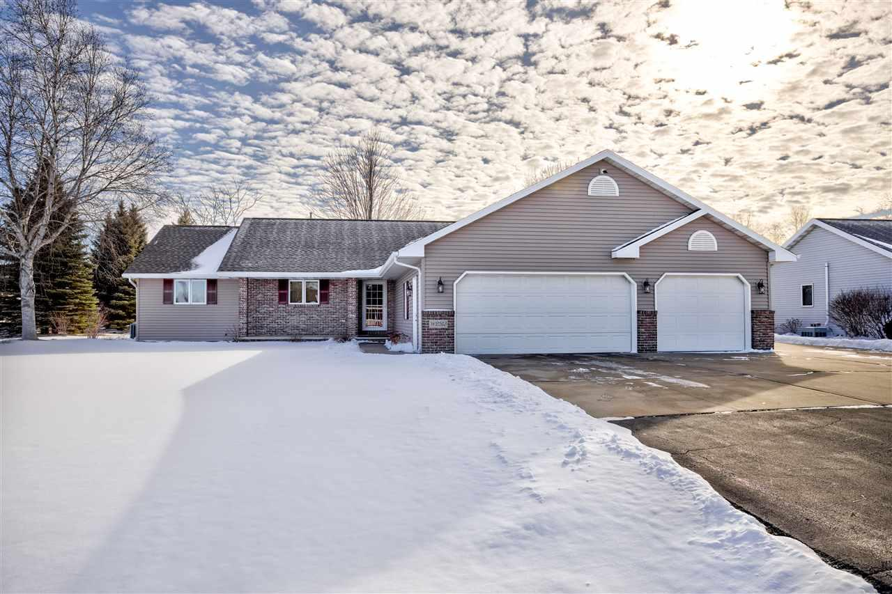 View Single-Family Home For Sale at W2513 PIONEER COURT, Appleton, WI