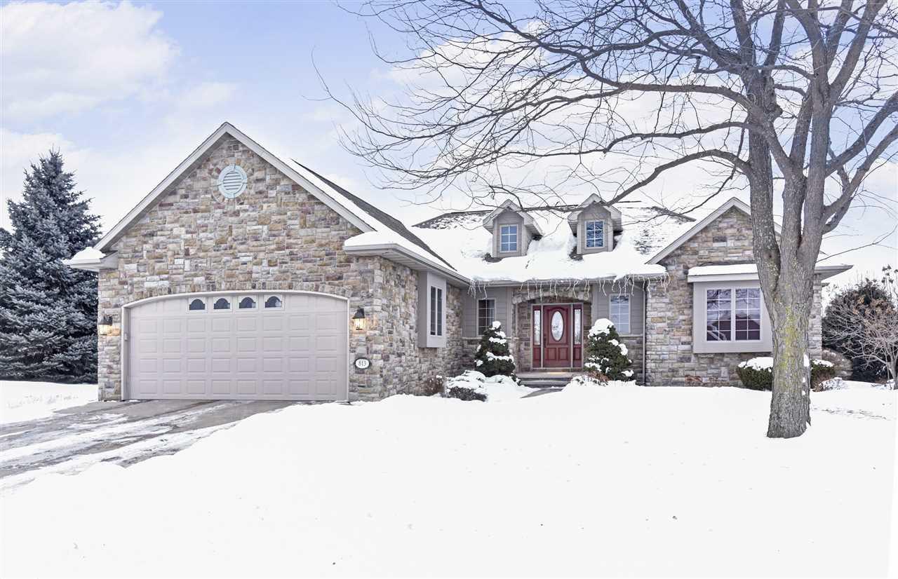 View Single-Family Home For Sale at 813 WHISPER FALLS LANE, Menasha, WI